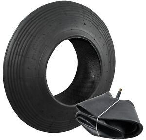 Schubkarren Reifen und Schlauch-Set (400x100) 4PR, Reifen, Mantel, Schlauch, Rad