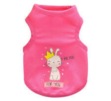 Dog Cat Shirt Kitty Kitten Summer Vest Puppy Clothes for Teacup Chihuahua Yorkie