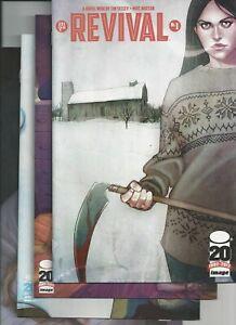 Revival #1,2,3,4 1st Printings Image Comics 2012 Tim Seeley VF