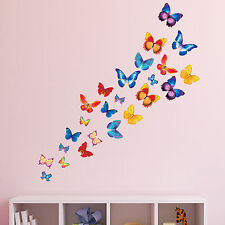 Butterflies Girls Bedroom Wall Stickers Graphics Decals - Butterfly