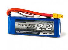 Turnigy 2200mAh 2S 7.4V 25C 50C LiPO Battery Pack w/XT60 Plug Plane, Car, Truck