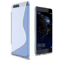 Handy Hülle Huawei P9 Silikon Case Slim Cover Schutz Hülle Tasche Transparent