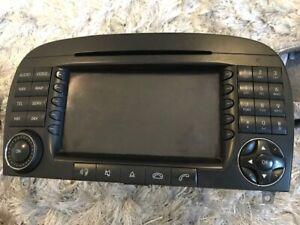 2308204189 Mercedes SL R230 SL350 500 SL63 55 sat Nav head unit Radio CD REPAIR.