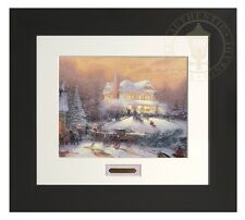 Thomas Kinkade Victorian Christmas II Home Collection Espresso Frame