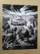 The Walking Dead Hyundai Chop Shop Promo Mini-Poster Limited Supply