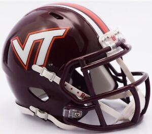 2000 Virginia Tech Hokies Sugar Bowl Custom Riddell Mini Helmet