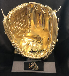 NY METS KEITH HERNANDEZ AUTOGRAPHED Hand SIGNED MINI GOLD GLOVE TROPHY Rawlings