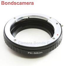 Macro Confirm Pentax K PK Lens to NIKON F MOUNT Camera Adapter D750 D3200 D7100