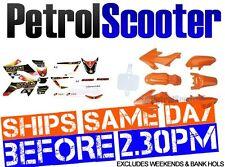 Pit Dirt Bike CRF50 Orange Plastic Set Rockstar Sticker 50cc 110cc 125cc 140cc