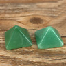 Egyptian Pyramid Crystal Quartz Healing Wicca Spirituality Chakra Stone Reiki
