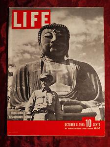 LIFE Magazine October 8 1945 Frank Lloyd Wright Guggenheim Love Letters