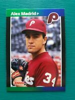 1989 Donruss ALEX MADRID Phillies Hot ERROR Card #604 - eBay's Hottest RARE Card
