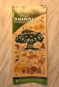 Disney's Animal Kingdom 20th Anniversary Park Guide Map