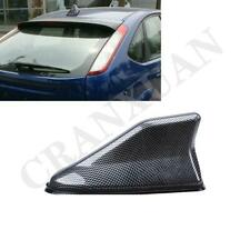 Black Carbon Fiber Style Shark Fin Antenna ABS For Car Exterior Roof Decorative