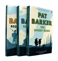 Pat Barker Trilogy 3 Books Regeneration The Eye in the Door and Ghost Road New
