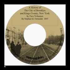 History 0f Brooklyn & Kings County 1895 - Vol 1&2 CD