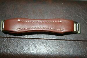 Bach Stradivarius Brown leather case handle trumpet or cornet 1950's thru 1980's