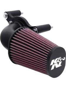 K&N Motorcycle Air Intake System FOR HARLEY DAVIDSON FXCW ROCKER 96 CI (63-1125)