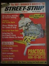 Street & Strip Magazine 1972 - 1973 Annual Hot Rodders Manual (E1) AO F