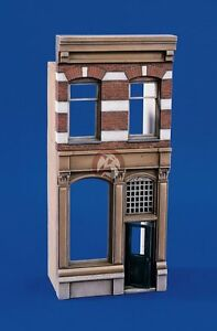 Verlinden 1/35 Civilian Row House Two-Story Front Facade Entrance Section 1857