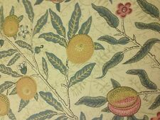 William Morris Fruit Major Fabric Per Metre Perfect stock - Not Seconds