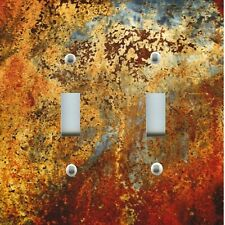 Light Switch Plate Cover RUSTIC HOME DECOR ~ IMAGE OF AGED COPPER DESIGN PATINA