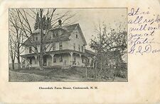 A View Of The Cloverdale Farm House, Contoocook New Hampshire Nh 1905