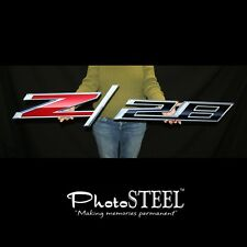 "CAMARO Z28 FULL SIZE WALL EMBLEM ART FULL 50"" x 9.5"" IN SIZE 2014 LATER"