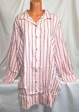 Victorias Secret FLANNEL SHIMMER Sleepshirt Night Gown Pajama NWT XL
