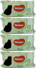 Huggies Baby Wipes Natural Care with Aloe Vera, 56 Count (Pack of 4) Fast Ship!
