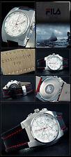 Fila-combi-chronograph reloj observamos Design roja señalador