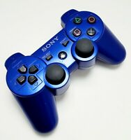 Sony OEM Dualshock 3 Wireless Controller BLUE For PlayStation Remote CECHZC2U
