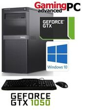 Fast Gaming Computer PC Windows 10 16GB RAM 1TB HDD Nvidia GTX 1050 HDMI WiFi