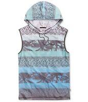 Univibe Mens Tropical Hoodie Sweatshirt