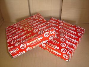 BREMBO (2) FRONT BRAKE DISC ROTOR 27002 1118 FO*RD CONTOUR