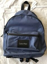 "Calvin Klein Campus Backpack Navy Fits 13"" Laptop $89 New"