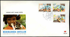 Netherlands Antilles 1975 Child Welfare FDC First Day Cover #C26655