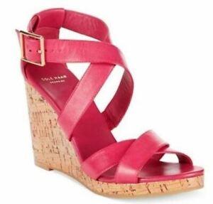 Cole Haan Women's Jillian Wedge Sandal Electra Size 9