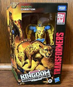 Cheetor Transformers Kingdom War For Cybertron Action Figure New NIB Beast Wars