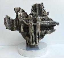 Abstract Figures. Cast Aluminium by listed Spanish artist Antonio Miro c1975