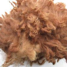Alpaca Brown Fibre Raw Unwashed Wool 200g