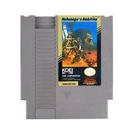 Nobunaga's Ambition (Nintendo NES 1989) Authentic Cartridge Polished Pins Tested