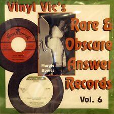 VINYL VIC'S 'Rare & Obscure Answer Records' - Vol# 6 - 29 VA Tracks