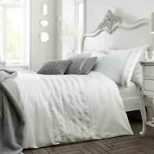 Caprice Garbo White Duvet Covers Sequin Sparkle Luxury Quilt Cover Bedding Sets