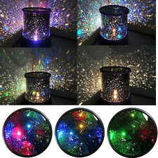 Romantic Kids Bedroom Night Starry Lamp Master Projector Sky Star LED Light Gift