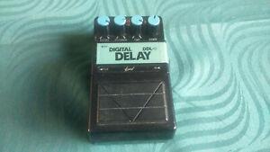 Vision DDL-5 Digital Delay Effect Pedal -->Vintage 80's digital delay<--