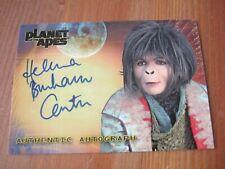 Planet of the Apes Autograph - Helena Bonham Carter - Ari - 2008 - Topps      ZN