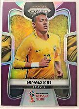 2018 Panini World Cup Soccer - Neymar Jr Brazil - Purple Prizm #86/99