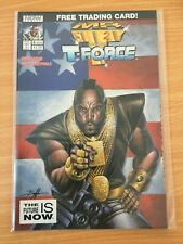 Mr T And The T Force #4 Now Comics VF No Trading Card