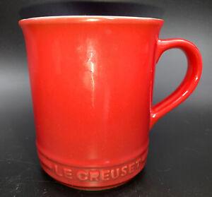 Le Creuset Stoneware Coffee Mug 400ml Cerise Red Dishwasher Safe